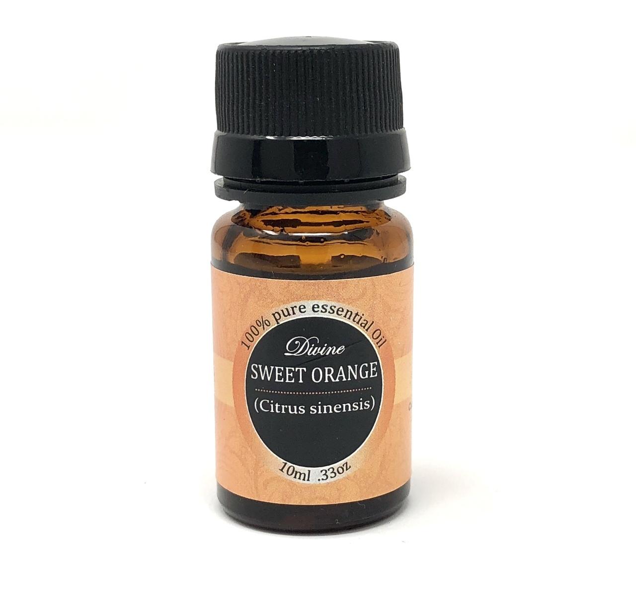 Divine Essential Oil Orange Image