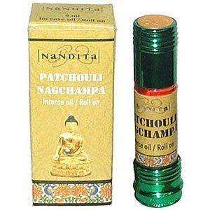 Nandita Nag Champa Patchouli Scented Oils Image