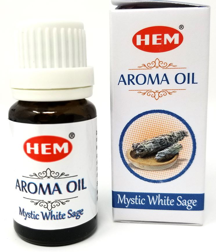 Mystic White Sage Aroma Oil by HEM Image