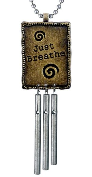 Musical Just Breath Car Chimes Image